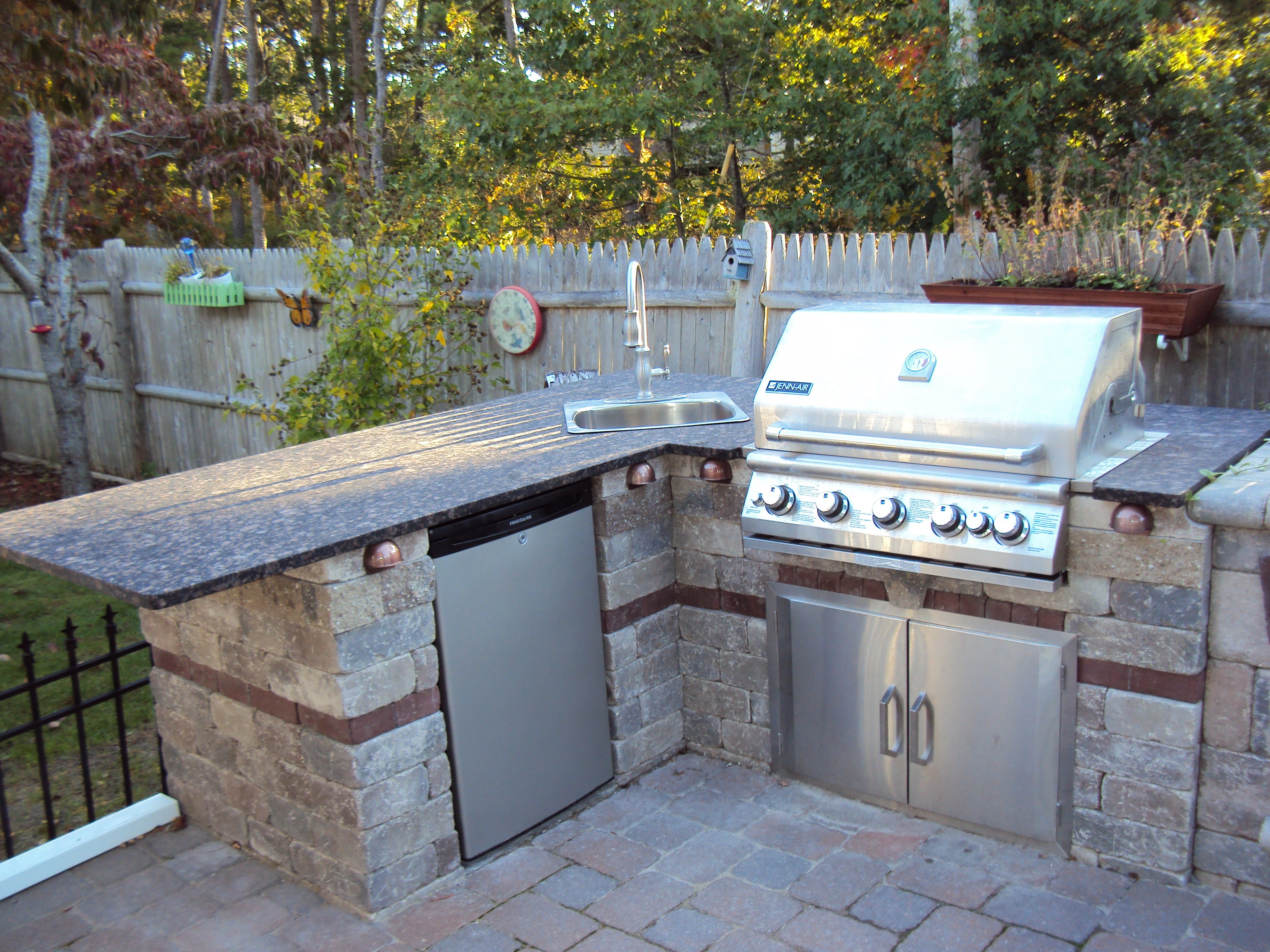 Earthworks Cape Cod - Outdoor Kitchens | Hardscape Service & Stone on covered terrace ideas, covered pergola ideas, covered hot tub ideas, covered outdoor fireplaces, covered outdoor chairs, covered patio designs, covered outdoor living rooms, covered deck with kitchen, covered backyard ideas, covered grill ideas, covered walkway ideas, rustic outdoor ideas, covered bbq ideas, covered balcony ideas, covered outdoor kitchens and patios, covered privacy fence ideas, cool outdoor bar ideas, covered outdoor cooking, covered fireplace ideas, covered outdoor architecture,